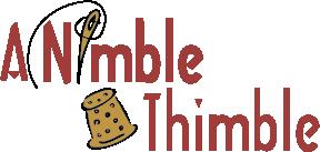 A nimble Thimble - Tyler Fabric Store - Logo
